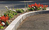 Williams Stone Company - corner curb